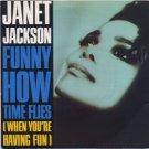 "Janet Jackson - Funny How Time Flies - UK   7"" Single - USA613 ex/ex"
