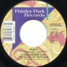 "Prince - I Could Never Take The Place Of Your Man - USA Promo  7"" Single - 28288"