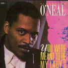 """Alexander O'Neal - You Were Meant To Be My Lady - UK   7"""" Single - 650048-7 ex/m"""