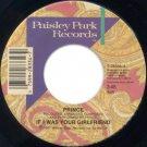 "Prince - If I Was Your Girlfriend - USA   7"" Single - 7-28334 ex/ex"