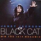 "Janet Jackson - Black Cat - UK   7"" Single - AM587 ex/m"