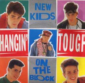 "New Kids On The Block - Hangin' Tough - UK 7"" Single - Block 3 ex/m"