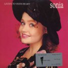 """Sonia - Listen To Your Heart - UK 7"""" Single - CHS3465 ex/m"""