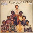 """Earth Wind & Fire - Let Me Talk - UK 7"""" Single - 8982 ex/m"""