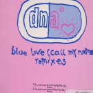 "DNA - Blue Love - UK 12"" Single - 204376 ex/ex"