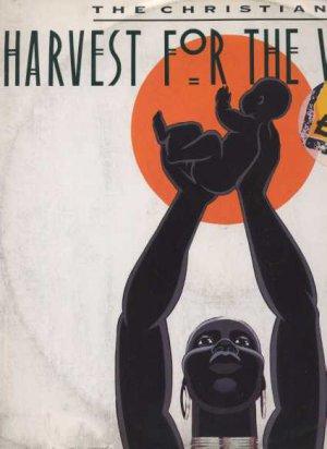 """The Christians - Harvest For The World - UK 12"""" Single - 121S395 g/vg"""