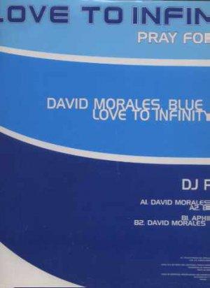 "Love To Infinity - Pray For Love - UK 12"" Single - DJC1213 ex/m"