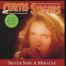"""Curtis Stigers - Never Saw A Miracle - UK 7"""" Single - 117257 m/m"""