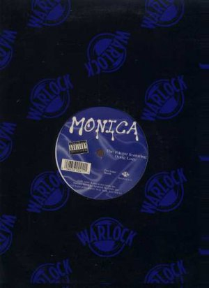 """Monica Ft Doug Lazy - The Factor - USA 12"""" Single - WR241-1 ex/m"""
