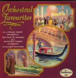 "Embassy Light Symphony Orchestra - Orchestral Favourites - UK 7"" Single - WEP10"