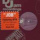"Foxy Brown Ft Mya - Job - USA 12"" Single - def512-1 ex/ex"