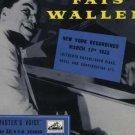 Thomas Fats Waller - New York Recordings March 11th 1936 - UK LP - CLP1035 vg/ex