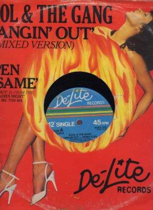 "Kool & The Gang - Hangin' Out - UK 12"" Single - Kool912 vg/vg"