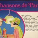 Chansons De Paris - French Vinyl LP