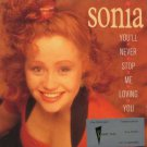 """Sonia - You'll Never Stop Me Loving You - UK 7"""" Single - CHS3385 ex/m"""