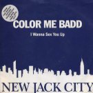 "Color Me Badd - I Wanna Sex You Up - UK 7"" Single - W0036 ex/ex"