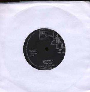"Diana Ross - Surrender - UK 7"" Single - TMG792# ex/ex"