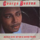 "George Benson - Never Give Up On A Good Thing - UK 7"" Single - K17902 vg/vg"