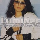 "Lumidee - Never Leave You - EU 12"" Single - MCST40328 vg/ex"
