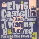 """Elvis Costello and the Attractions - I Wanna Be Loved - UK 7"""" Single - XX35 ex/"""