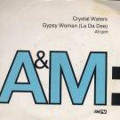 """Cyrstal Waters - Gypsy Woman - UK 7"""" Single - AM772 vg/vg"""