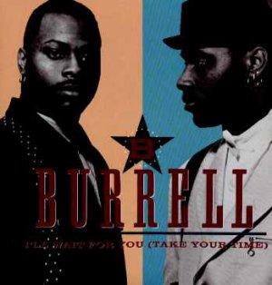 "Burrell - I'll Wait For You - UK 7"" Single - TEN218 ex/ex"