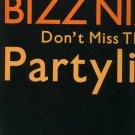 "Bizz Nizz - Don't Miss The Partyline - UK 12"" Single - COOLX203 vg/vg"