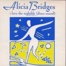 "Alicia Bridges - I Love The Nightlife - UK 7"" Single - POSP879 ex+/m"