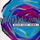 "Adamski + Jimi Polo - Never Goin' Down! - UK 12"" Single - MCST1578 ex/ex"