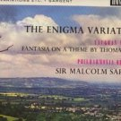 Philharmonia Orchestra with Malcolm Sargent - The Enigma Variations - UK LP