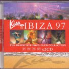 Various - Kiss In Ibiza 97 - UK DBL CD - 555035-2 m/m