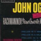 John Ogdon - Rachmaninov Piano Concerto No. 2 - UK LP - ASD492 ex/m