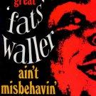 Fats Waller - Aint Misbehavin' - UK LP - MFP1062 ex/m