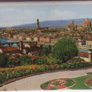 Florence Italy Postcard 1955