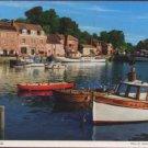 Padstow Cornwall Postcard by John Hinde Original - Boats