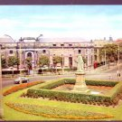 Library and Ramsden Square Barrow -in-Furness Postcard -CARS