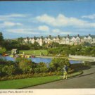 Boating Pool, Egerton Park, Bexhill -on-Sea  Postcard by DENNIS