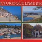 LYME REGIS DORSET - Postcard - Salmon