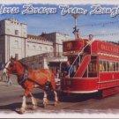DOUGLAS IOM - Postcard - Horse Drawn Tram - John Hind