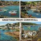 Greetings From Cornwall Postcard by John Hinde Original
