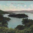 "Ellen's Isle Loch Katrine Postcard  The ""Popular Series"" No .202"