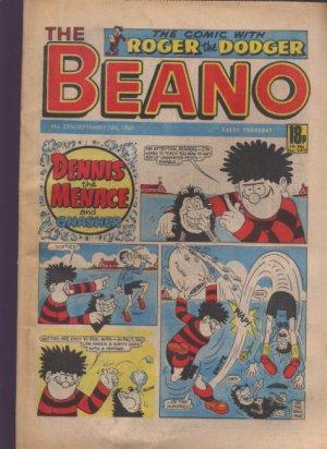 THE BEANO UK COMIC Sept 12th 1987 No. 2356