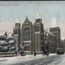 OWENS COLLEGE Manchester Postcard 1905 Valentine Series