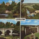 LUDLOW  Postcard With 4 Views 1980