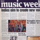 MUSIC WEEK MAGAZINE Sept 1998 - Mel B- R Kelly