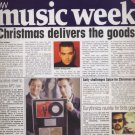 MUSIC WEEK MAGAZINE Dec 1998 Robbie Williams,