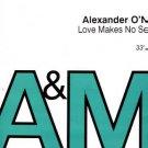 "Alexander O'Neal - Love Makes No Sense - UK Promo 12"" Single"