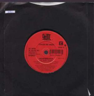 "Color Me Badd - Heartbreaker - UK 7"" Single"