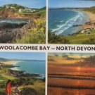 Woolacombe Bay Devon 1984 Postcard / John Hind