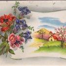 Embosed Postcard 1950's